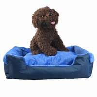 Wholesale Blue Beds - Pet Cotton Nest Kennel Luxury Bed Cushion for Dog Cat Removable Puppy Sleeping Mat Warm Christmas Cats Pad Anti-skid Pet Supplies Blue F-005
