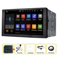 Wholesale Dvd Gps Hd - Joyous(J-3862H) 2 DIN Android 5.1.1 Quad Core Universal Car Audio Stereo GPS Navigation 1024P HD Radio Automotive Multimedia car DVD Player