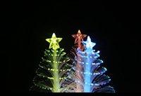 Wholesale Led Christmas Trees Cheap - Flashlight 288 fiber optic Christmas tree night light LED electronic Christmas gift stall toys wholesale Cheap Electronics
