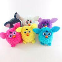 Wholesale Recording Stuff - Electric Pets Owl Elves Recording Talking Plush Toys Plush Stuffed Kids Interactive Toys 6 Colors 36pcs OOA3146