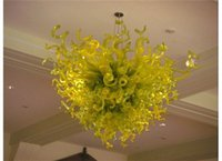 Wholesale popular gold chain styles for sale - Most Popular Modern Art Chandelier Home Decor European Style Hand Blown Glass Ceiling Chandelier Light for
