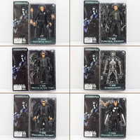 Vente chaude NECA The Terminator 2 Action Figure ENDOSKELETON Figure jouet Collectible Model Toy 6Styles Livraison gratuite EMS
