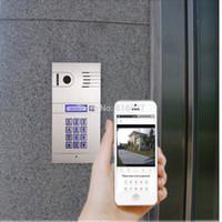 Wholesale Outdoor Intercom Door Wireless - Promotion! World first 4G  WiFi intercom system two way intercom and remotely unlock door,controlcam, global video door phone