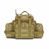 Wholesale Bag Pack For Messenger - Wholesale-High Quality Camouflage Tactical Waist Packs Outdoor Sports Running Cycling Waist Pack For Men And Women Messenger bag