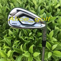Wholesale gold dynamics - 2018 Top quality golf irons AP3 718 irons forged set( 3 4 5 6 7 8 9 Pw ) with original dynamic gold S300 steel shaft 8pcs golf clubs