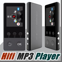 Bluetooth HIFI MP3 Music Player 1,8 polegadas TFT Screen Sport Walkman com gravador de voz Pedômetro Video E-book FM Radio