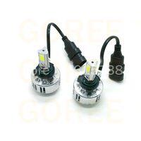 Wholesale Audi Led Headlamp - 9006 HB4 3 COB Led Headlight H7 H8 H9 H10 H11 HB3 9005 LED Headlight LED headlamp 3 COB Cree Chip Super Bright