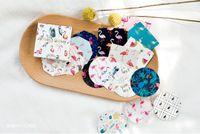 Wholesale Scrapbook Christmas - Popular 45Pcs Flamingo Paper Sticker For DIY Gift Craft Label Birthday Party Decorations Cartoon Scrapbook Supplies Kids Favor