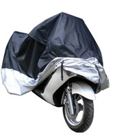 Wholesale rain motorcycle - Dustproof Moped Scooter Waterproof Cover For Motorcycle Bike Rain UV Resistant Dust Prevention Covering Free Shipping