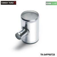 ansaugung abblasen großhandel-TANSKY-Universal BOV T-Rohr 80mm 3,15