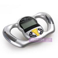 Wholesale Handheld Body Fat Analyzer - Digital handheld home use body fat analyzer LCD