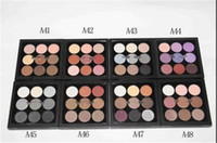 Wholesale naked eyeshadow powder palette for sale - Group buy M Eyeshadow Palette Eye Shadow x9 Fard Pard A Paupieres Nude naked palette palettes DHL ship