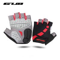 Wholesale Gub Bike - Gub Summer Half Finger Cycling Gloves Gel Breathable Gym Gloves Mtb Mountain Road Bike Gloves Sport Guantes Ciclismo