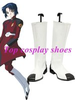 Wholesale Gundam Seed - Wholesale-Gundam SEED Zaft Cosplay Shoes #NC022 Halloween Christmas festival shoes boots