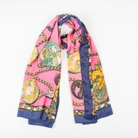 Wholesale 2016 new women silk scarf large size ladies shawl color optional mdv