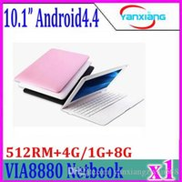 Wholesale Graphic Card Laptops - 1pcs 10INCH mini laptop, laptop webacm 512   4G 1g 8g 8880 Android Netbook Notebook computer through HDMI integrated graphics card zy-bj-3
