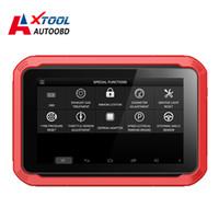 actualización de xtool al por mayor-XTOOL Original X100 Pad Programador de llave automático Herramienta de descanso de aceite Ajuste del odómetro Actualización gratuita en línea X100pad funciona como X300 pro