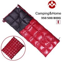 Wholesale AEGISMAX UltraLight White Duck down sleeping bag camping Envelope type sleeping bag Ourdoor and Family