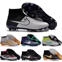Wholesale Good Sale Boots - 2016 New Soccer Shoes Magista Obra FG Men ACC Football Shoes Good Quality Cleats Top quality Discount Hot Sale TPU Sports Boots 6.5-11