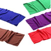 Wholesale Wholesale Kitchen Towels Dishcloths - Nano-absorbent microfiber clean Towel Kitchen Handkerchief Dishcloths 25*50CM E00160 FAH