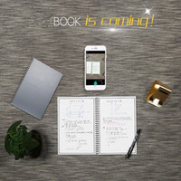 Wholesale Flash Clouds - 2017 new Erasable Electronic Reusable Smart Wirebound Notebook with a pen Innovation Notepad Cloud Storage, Flash Storage, App Connection