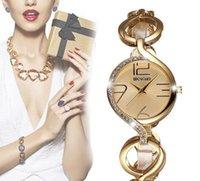Wholesale Petal Fold - Women's Watches Petals Bracelet Watches Women Gold Crystal Rhinestone Fashion Watch Ladies Casual Relogio Feminino orologio donna