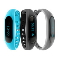 Wholesale Touch Screen Ip65 - CUBOT V1 Smart Band IP65 Waterproof Touch Screen Bluetooth 4.0 Sports Wristband For Android IOS with Intelligent Function Alarm