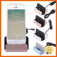 Wholesale Micro Usb Car Charge - Charger Dock Stand Holder Charging Dock Micro USB 2.0 Type-C for iPhone 7 6 6s Plus Samsung LG with Retail Box