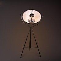 Wholesale Simple Floor Lamps - LOFT Vintage Industrial Coffee House Northern Europe Art Living Room Bedroom Simple Creative Tripod Floor Lamp