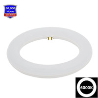 Wholesale Circular Tube Lights - 12 Inch Circline 16W T9 LED Light Bulb Daylight 6000K Replacement for Fluorescent FC12T9 without Ballast circular ring tube circle lighting