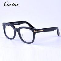 Wholesale Eyeglasses Frames For Women - Brand TOM FOR optical frames men women TF5179 fashion acetate big frame spectacle optical eyeglasses myopia eyeglass glasses original case