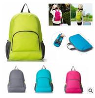 Wholesale Lightweight Duffel Bags - Lightweight Foldable Waterproof Women Men Children Skin Pack Backpack Travel Outdoor Sports Camping Hiking Bag Rucksack