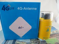 Wholesale Huawei Antenna Ts9 - Wholesale- Huawei E8372h-607 Wingle WiFi Hotspot 150Mbps LTE 4G 3G USB Car Home Modem+4g TS9 35dbi antenna