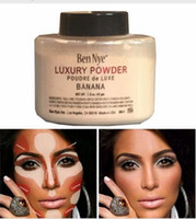 Wholesale Oz Beauty - Ben Nye Banana Powder 1.5 oz Bottle Luxury Powder Poudre de Luxe Banana Loose Powder 42g Beauty Makeup cosmetic