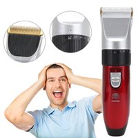 Wholesale electric hair cutters online - 220 V Professional Hair Trimmer Hair Clipper CE Certificated Hair Clip Electric Cutter with Battery for woman man