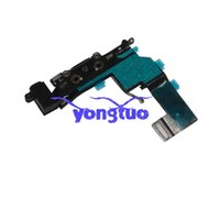 Wholesale Tail Plug Black - Dock Connector Charging Port Flex Cable For iPhone 5 5G with Headphone Jack Tail Plug Flex For Iphone5g Black   White