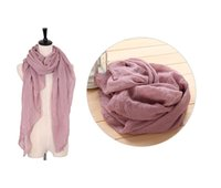 Wholesale Ring Size 22 - Unisex Designer Scarf Summer Go To Beach Winter Keep Warm Polyester Shawls Pashmina 22 Colors And 2 Size Discout Scarves No Profits S3