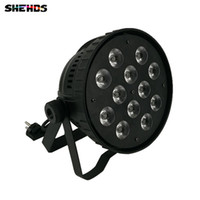 Wholesale Led Aluminum Channel Shipping - Fast Shipping Aluminum alloy LED Par12x15W RGBWA Light Wash Light For Event,Disco Party Nightclub,SHEHDS Stage Lighting
