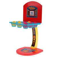 Wholesale 1Pcs Basketball Game Toy Shooting Machine One Or More Players Game Toy Children Mini Kids Boy Table Basketball Toy K5BO