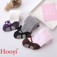 Wholesale Thermals For Baby Girls - Hooyi Baby Girls Pantyhose Girl Tights Cotton Children Pants Bebe Leg Warmers Newborn Stockings thermal Tights for Girls 0-3Year
