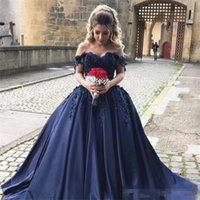 Элегантный флот Blue Sweet 16 Dresses Part Evening Wear V Neck Lace Applique Corset Prom Дешевое платье Quinceanera Vestido De 15 Anos Pageant