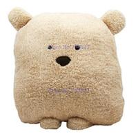 Wholesale 28cm Teddy Bears - 28cm 40cm Wedding doll lovely bear plush toys Children pillow Children hand warm bear doll stuffed plush animals gift