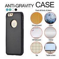 Wholesale Nano 6g Case - For iPhone7 7 6 6G Plus Plus 5 5S Anti Gravity Magical Nano Sticker Adsorption Hard Case Cover For iPhone 6 6plus 5