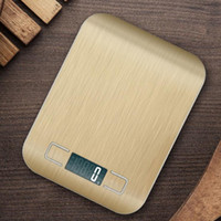 Wholesale Electronic Kitchen Baking - New Arrive Kitchen Scale Baking Cooking Measure Tools Stainless Steel Electronic Weight Pocket Digital LCD Scale Tools 5KG 1G with gift box