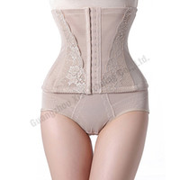 Wholesale Tummy Trimmers For Women - Wholesale- Sexy Fashion Trainer Girdle Slim Control Corset Shapers Shapewear Waist Tummy Trimmer Cincher Body Shaper Black Corset For Women