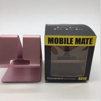 suporte de mesa para celular venda por atacado-Para ipad 2017 titular universal tablet pc suporte de mesa de metal de alumínio à prova de choque carregador stand suporte para iphone x 7 7 plus para iphone 8 hot
