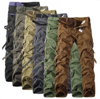 Wholesale Army Cargo Camo - NEW MENS CASUAL MILITARY ARMY CARGO CAMO COMBAT WORK PANTS TROUSERS