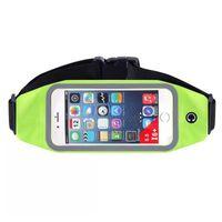 Wholesale Travel Bag For Iphone - Multifunctional men women Sport running waistband for iphone 6 6 plus travel waist belt pouch bag cellphone case