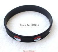 Wholesale Teams Energy Bracelet - 100pcs new arrival fashion popular black top quality energy wristband Go Team Valor Mystic Instinct Silicone Bracelets