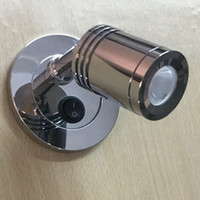 Topoch Ressessed Wall Lamp Grooved Cylindrical Head Focusing Lens 30 Degree Discrete Blackpate with Integral Rocker Switch for House RV Boat